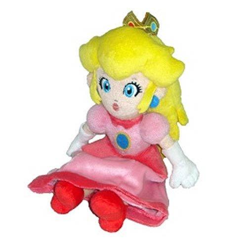 Little Buddy Toys Official Super Mario Plush 8 Princess Peach