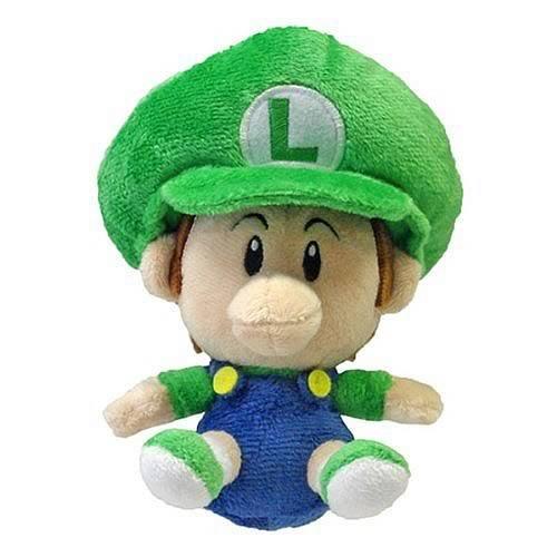 Official Super Mario Plush 5 Baby Luigi