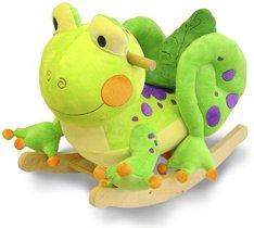 Fergie Frog Plush Rocker-Rockabye 85026