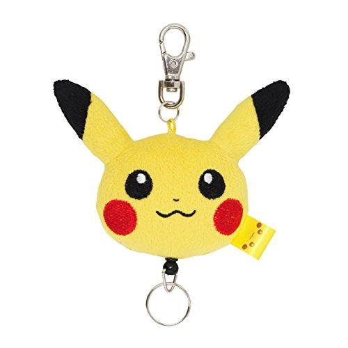 Pokemon Center Original Plush Toy Keychain with reel Pikachu