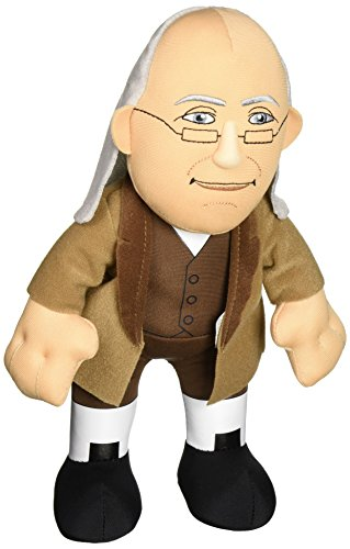 Bleacher Creatures Historical Benjamin Franklin 10 Plush Figure
