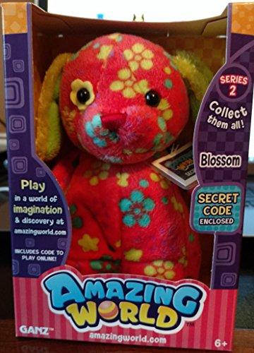 Amazing World Series 2 Blossom the Dog Interactive Plush Toy - 55