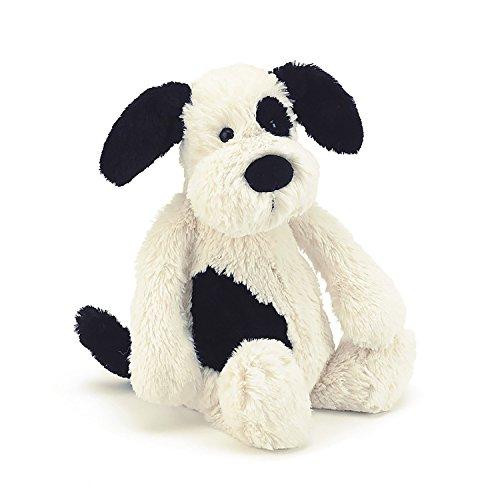 Jellycat Bashful Black Cream Puppy - Medium