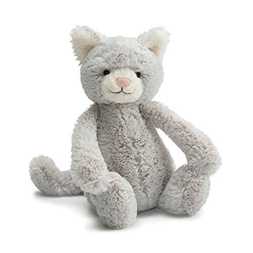 Jellycat Bashful Kitty Grey Medium