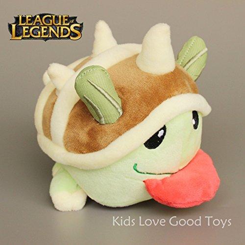 Cute League of Legends LOL Limited Poro Plush Stuffed Toy Figure Doll 14cm Teddy