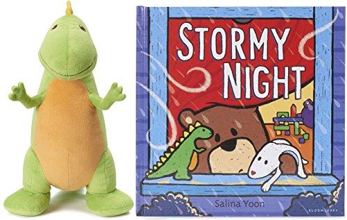 Stormy Night Book and Dinosaur Plush
