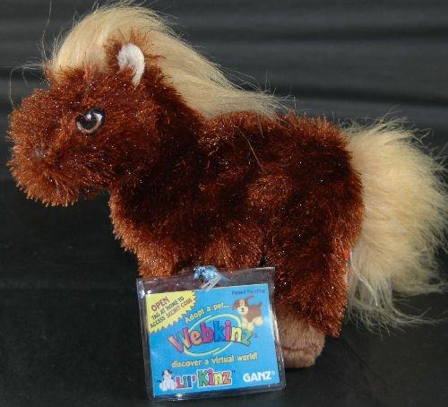 Ganz Webkinz Lil Kinz Brown Horse Plush Pet Online Toy