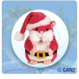 Webkinz Mazin Hamster Nick Christmas RED with Free Webkinz Bookmark Toy