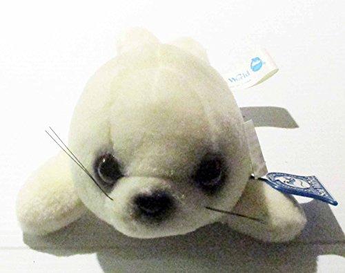 Sea World Baby Harp Seal Plush Doll 8inch