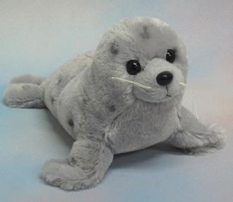 Wishpets 10 Grey Seal Plush Toy
