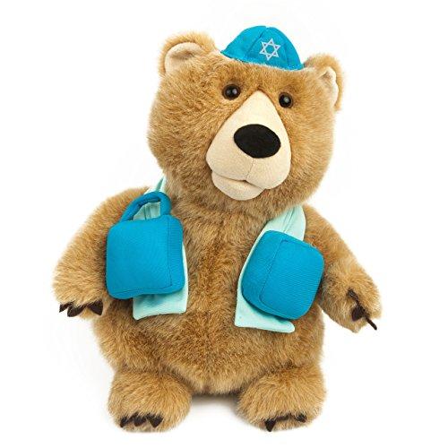 Nika International Hava Nagila Bear Animated Singing Plush Toy