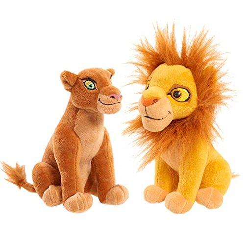 2 pc SET - LION GUARD SIMBA NALA BEAN PLUSHES