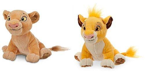 Simba Plush and Nala Plush The Lion King - Mini Bean Bag - 7