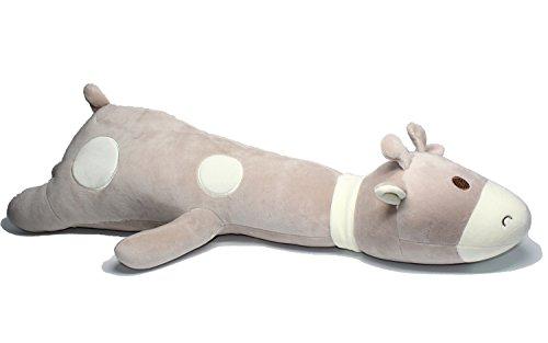 Giraffe big hugging pillow soft plush toy stuffed animals Grey 265