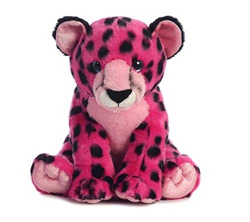 Aurora World Destination Nation Animal Cheetah Plush Pink
