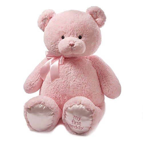 Baby GUND My First Teddy Bear Jumbo Stuffed Animal Plush Pink 36