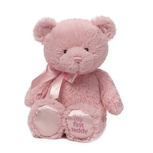 Baby GUND My First Teddy Bear Stuffed Animal Plush Pink 18