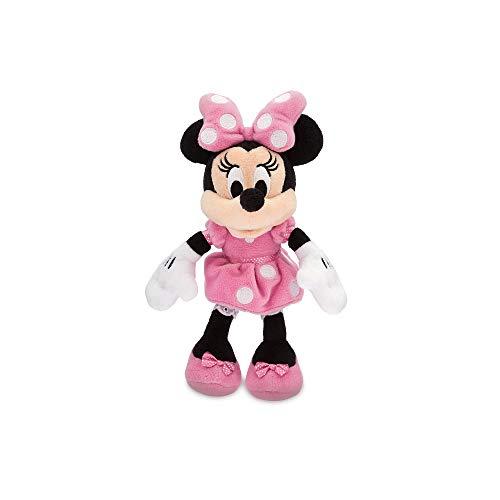 Disney Minnie Mouse Plush - Pink - Mini Bean Bag - 9 12 Inch Multi