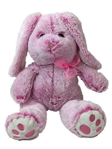 Hug Fun Plush Pink Lop Ear Bunny Rabbit 13 in Stuffed Animal Pal