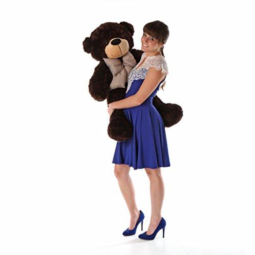Brownie Cuddles - 38 - Irresistibly Cute Extra Soft Chocolate Brown Plush Teddy Bear