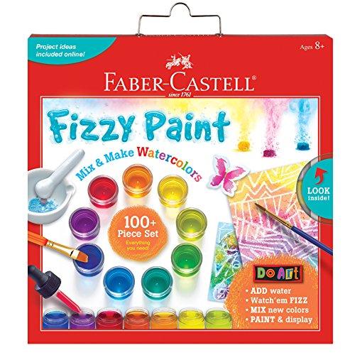 Faber-Castell Do Art Fizzy Paint Mix Make Liquid Watercolors - Watercolor Paint Set for Kids