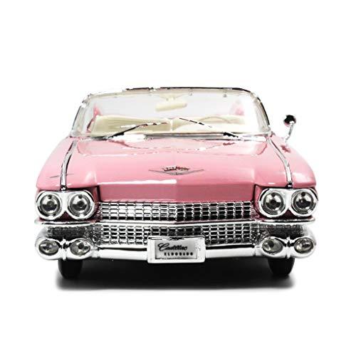 XIANWEI Car Model  118 Simulation Die Cast Alloy Modelfor 1959 Cadillac Eldorado Convertible Classic Car ModelsToy CarOrnaments