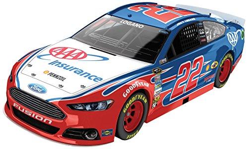 Joey Logano 22 AAA Ford Fusion 2014 NASCAR Diecast Car 124 Scale HOTO