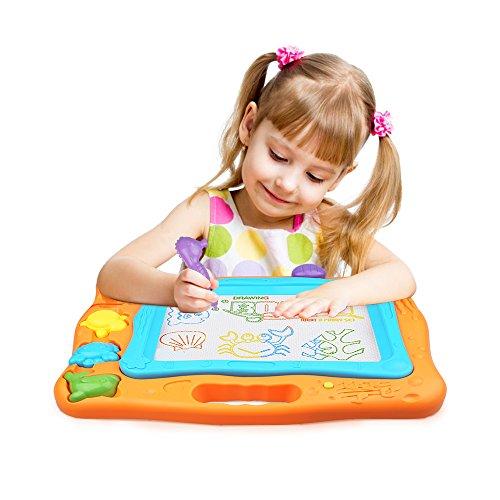 Kids Drawing BoardMagnetic Writing Sketch Board Pad Erasable Magna Doodle