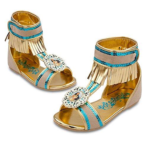 Disney Store Pocahontas Costume ShoesSandals Size 910