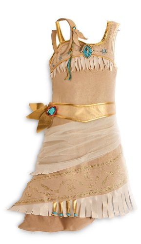 Disney Store Pocahontas Costume Size XS 44T Indian Princess Halloween Dress