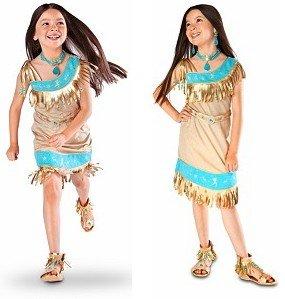 Disney Store Pocahontas Indian Princess Costume Size XXS 2-3