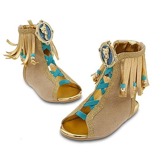 Disney Store Princess Pocahontas Halloween Costume ShoesSandals Size 131
