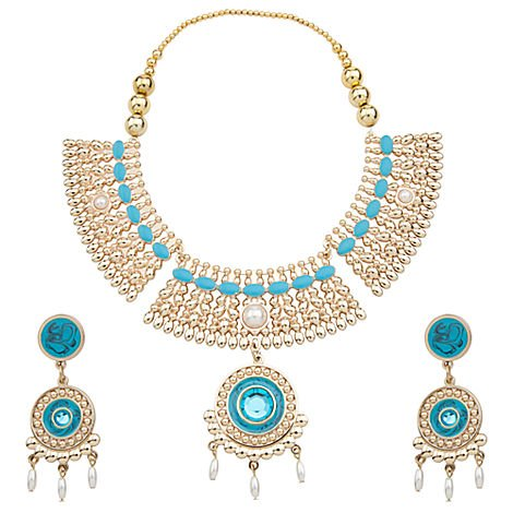 Princess Pocahontas Jewelry Costume Accessories Necklace Earrings