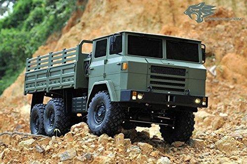 CROSS-RC XC6B 6X6 Military 6WD 112 Scale Truck Kit