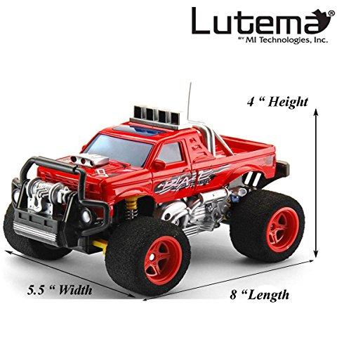 Lutema Blaze Truck 4CH Remote Control Truck Red
