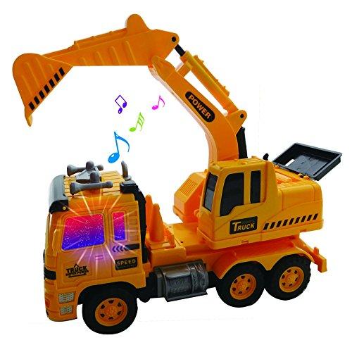 Radio Control Heavy Duty Hauler Excavator RC Backhoe Construction Truck