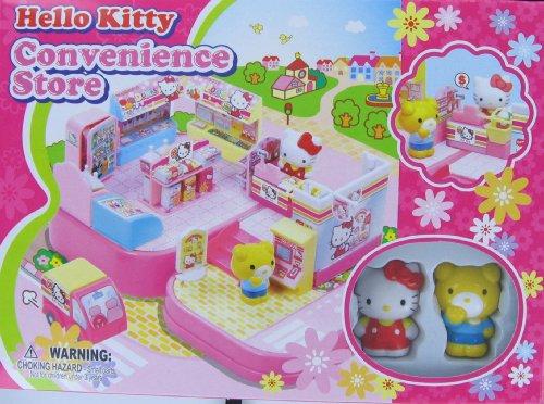 Hello Kitty Mini Town Convenience Store Playset