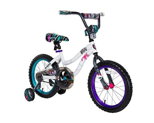 Monster High Girls 16 Bike Small WhiteBluePurple