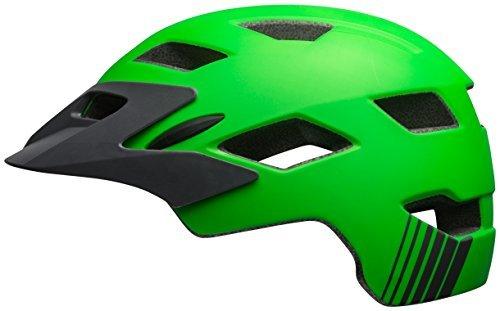 Bell Sidetrack Youth Bike Helmet - Kids Matte KryptoniteTitanium by Bell