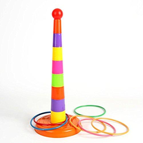 LEORX Parent-child Sport Ring Toss Game Set