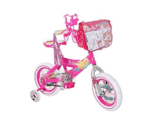 Barbie Girls Barbie Bike PinkWhite 12-Inch