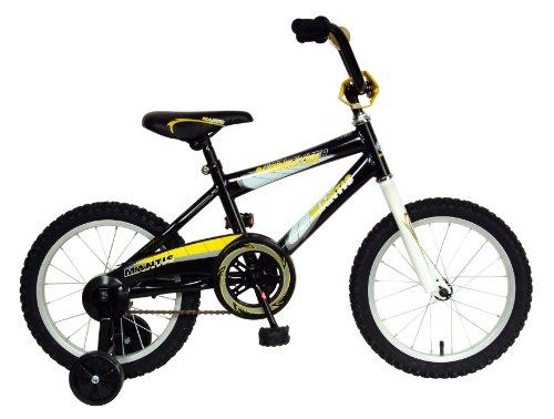 Mantis Burmeister Kids Bike 16 inch Wheels 105 inch Frame Boys Bike Black