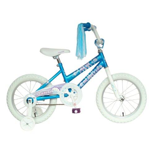 Mantis Maya Kids Bike 16 inch Wheels 105 inch Frame Girls Bike Blue