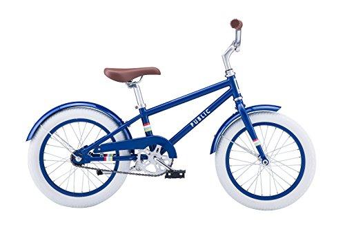 PUBLIC Bikes V1 Diamond Frame Kids Bike 16SmallMedium Royal Blue