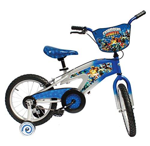 Skylanders Kids Bike 16 inch Wheels 11 inch Frame Boys Bike Blue