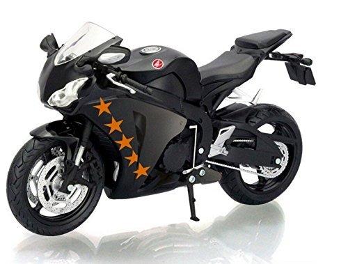 112 scale new Black kids Motorcycle motor cycle CBR1000RR Die cast motor bike Alloy metal models race motor bike toys for children
