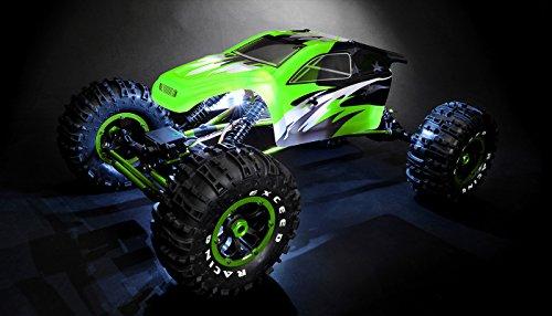 18Th Mad Torque Rock Crawler Ready to Run Green