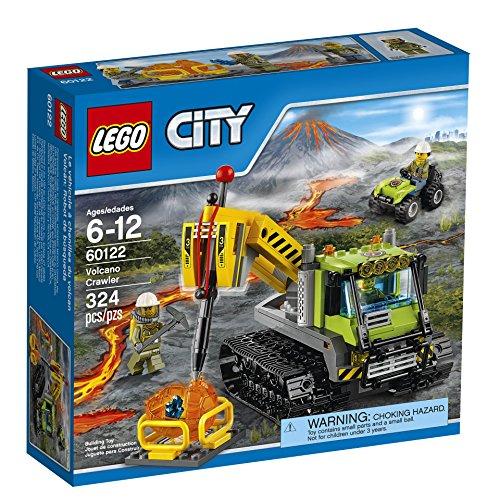 LEGO City Volcano Explorers 60122 Volcano Crawler Building Kit 324 Piece