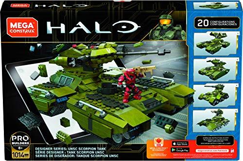 Mega Construx Halo Designer Series UNSC Scorpion Tank