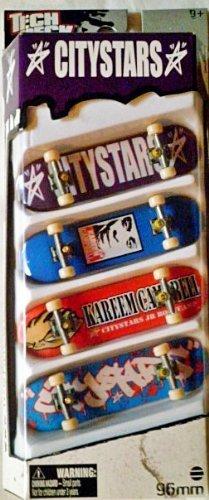 Tech Deck 96mm 4-Fingerboard Skateboard Pack - CITYSTARSKareem Campbell